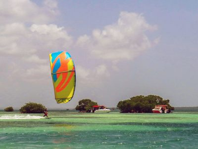 Gwada Kite School, stages de kitesurf dans le lagon